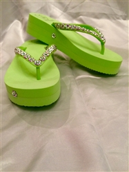 Flower Collection -  Limegreen