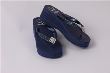 Lady Rocks High NIght- Navy